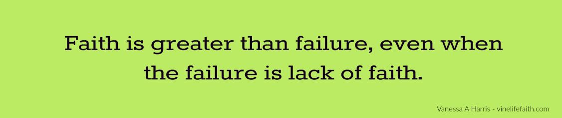 faith-vs-failure