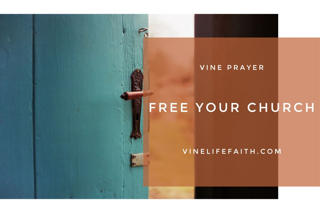 Free your church. Pray God's Word to release the spirit of liberty in His church.